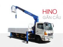 Xe tải Hino gắn cẩu