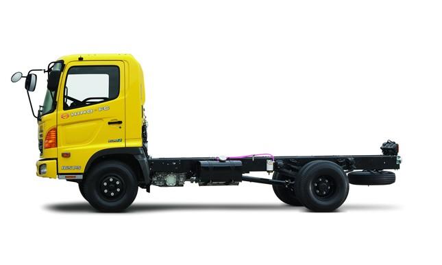 Xe tải Hino 6.4 tấn chassis FC
