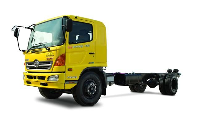Xe tải Hino 8 tấn chassis FG