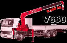Cần cẩu Unic UR-V630