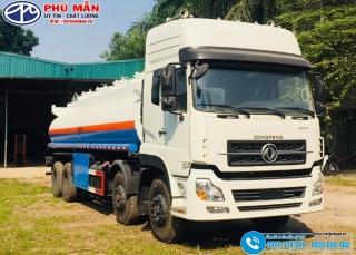 Xe Bồn Chở Xăng Dongfeng 4 Chân 23 Khối - 23000 Lít