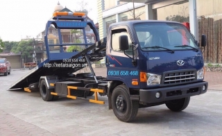 Xe Cứu Hộ Hyundai   Xe Kéo Chở Xe Hyundai 5 Tấn HD120SL