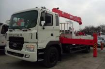 Xe tải Hyundai HD170 – 8.5 Tấn – Gắn Cẩu 3 tấn – 5 tấn