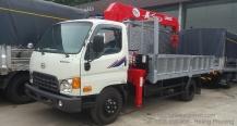 Xe tải Hyundai 5 Tấn – Gắn Cẩu Unic 3 tấn – 4 Khúc