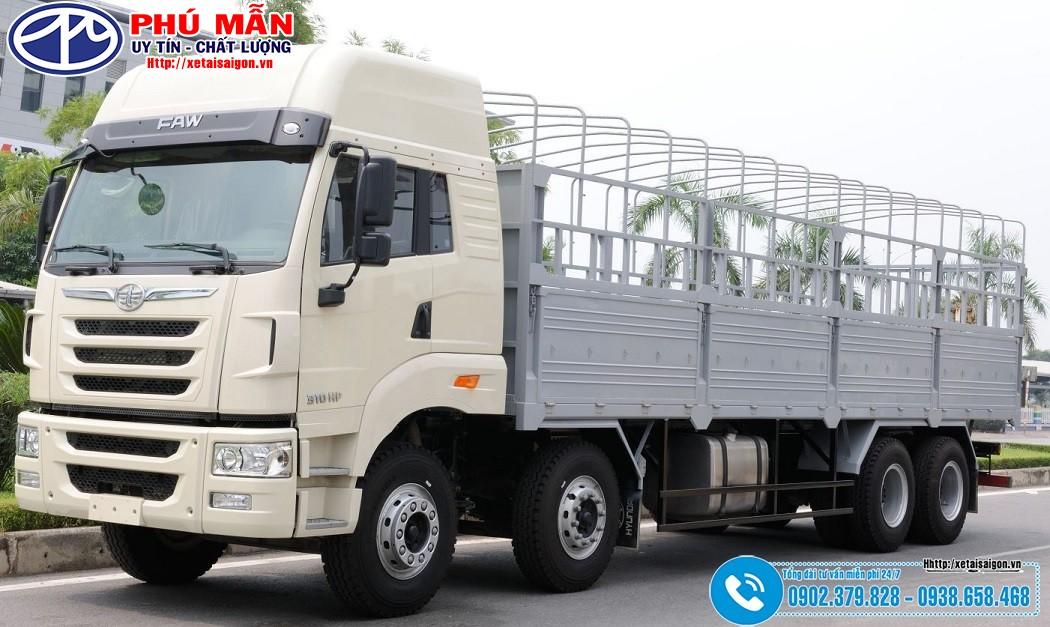 Giá Xe tải Faw 4 Chân 17T9 - 17 Tấn 9 - Cabin J5