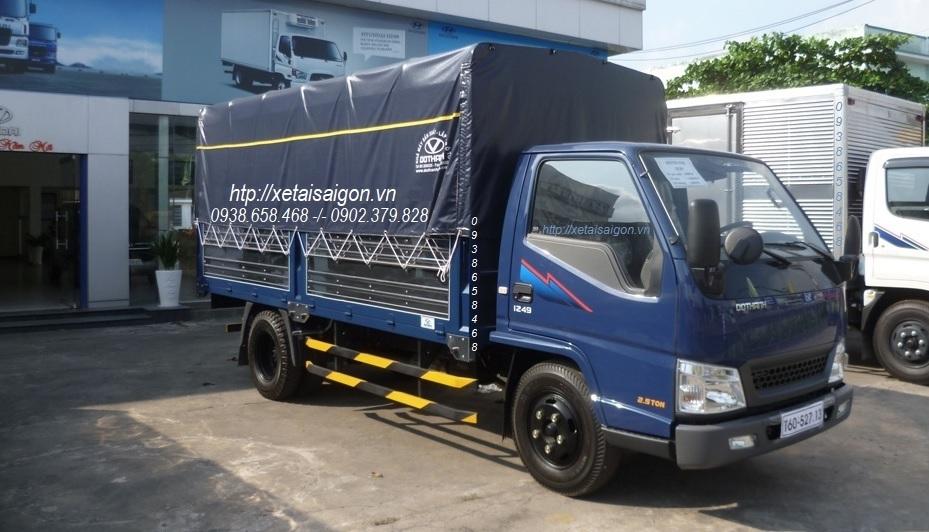 Giá xe IZ49 – 2T4 | Xe tải Đô Thành IZ49 – 2.4 Tấn – Thùng Bạt