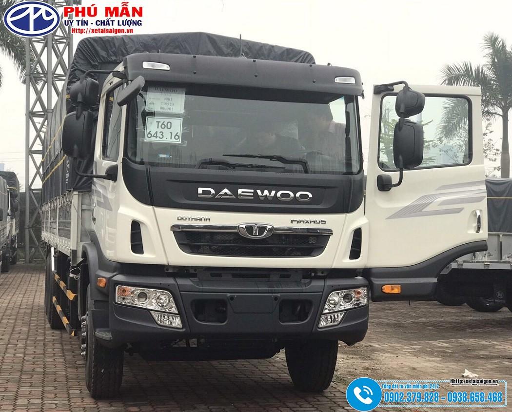 Giá xe tải Daewoo 16 tấn K9LEF