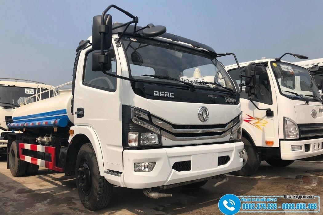 Xe Bồn Chở Nước Dongfeng 5 Khối - 5000 Lít - Nhập Khẩu 2021