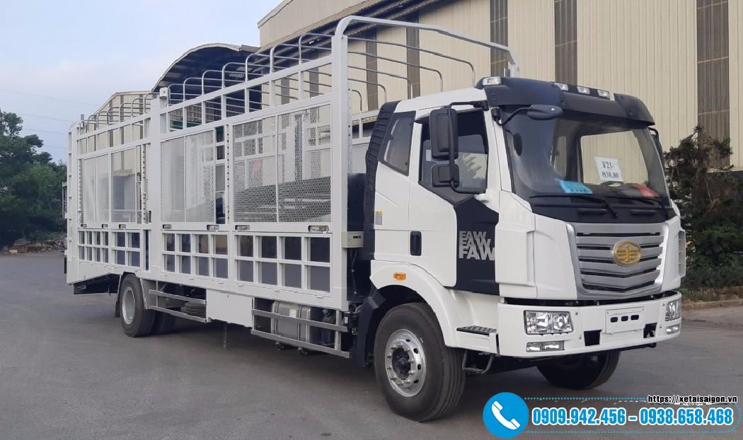 Xe Chở Ô tô 2 Tầng FAW 7 tấn - Thùng Dài 9M7