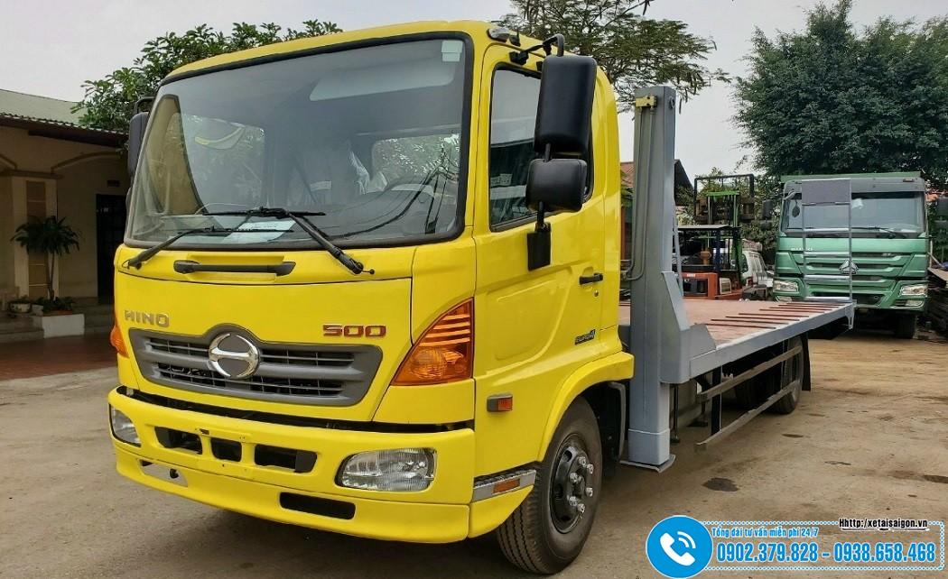Xe Nâng Đầu Chở Máy Công Trình 6 Tấn Hino FC9JLTC