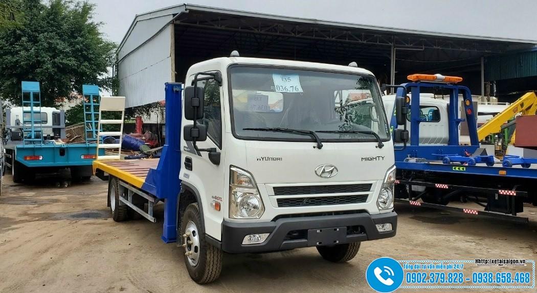 Xe Nâng Đầu Chở Máy Công Trình Hyundai 6 Tấn EX8 GTL