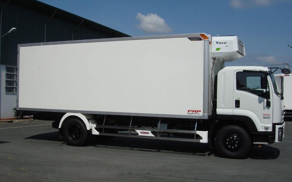 Xe tải ISUZU 9 tấn thùng đông lạnh FVR34Q
