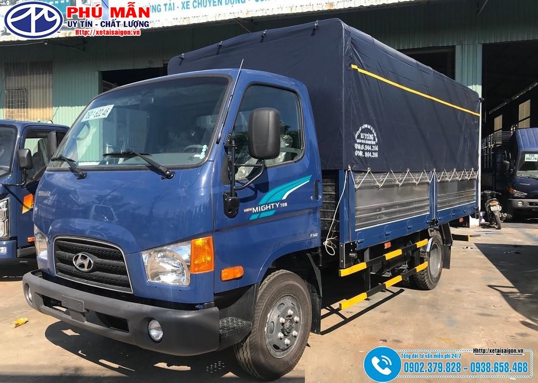 Xe tải Hyundai 3.5 Tấn Mighty 75S – Model 2020