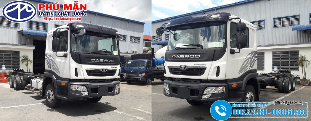Xe tải Daewoo 14 tấn 15 tấn 16 tấn Đời 2019