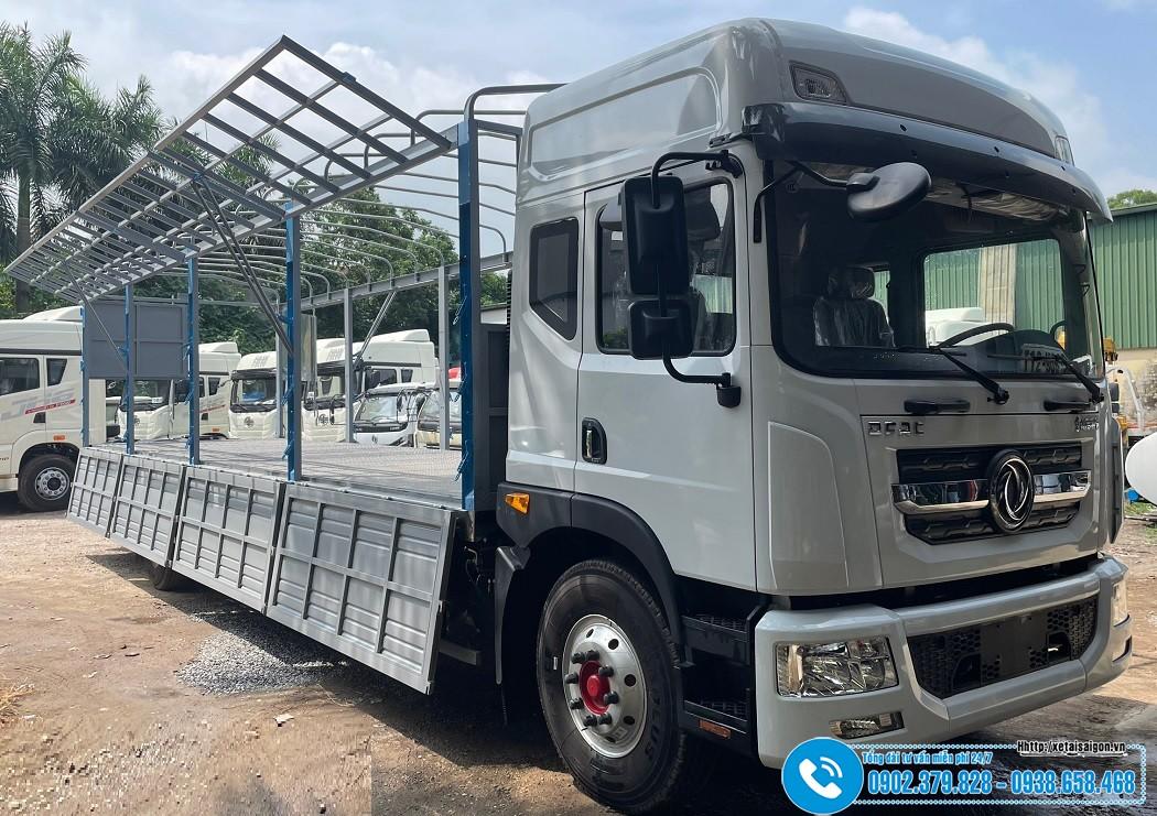 Xe tải DongFeng 8 Tấn D12 Thùng Dài 9m6