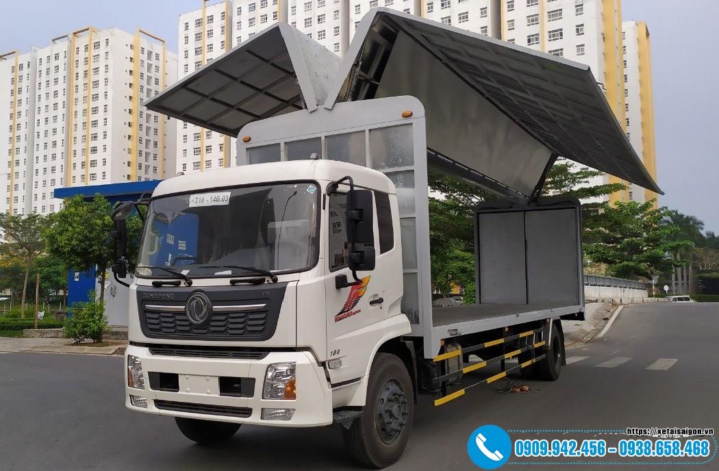 Xe tải DongFeng 8 Tấn Thùng Cánh Dơi Dài 9M5