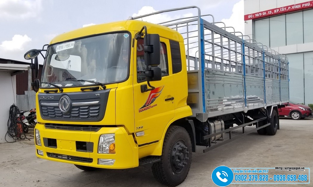 Xe tải DongFeng 2 Chân Thùng Dài 9M5