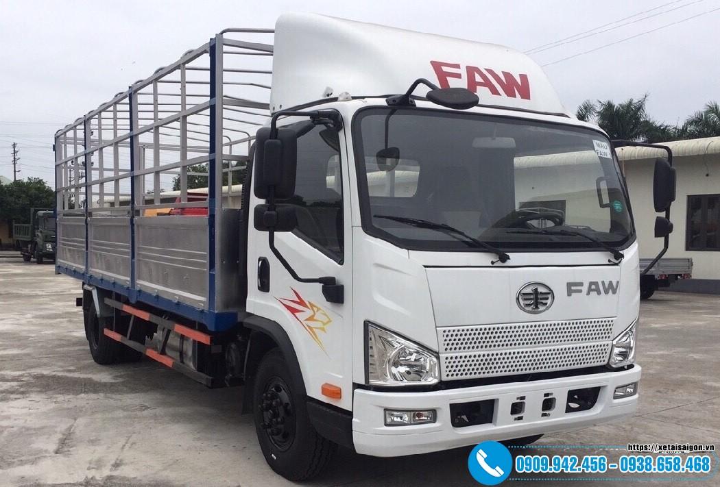 Xe tải Faw 3T5 Thùng Dài 6M2