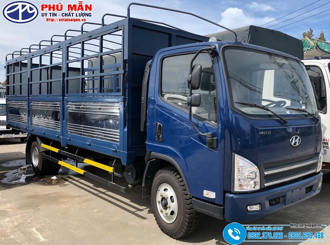 Xe tải Faw 7.3 tấn – Máy Hyundai   Xe Faw 7T3 – Thùng 6M2