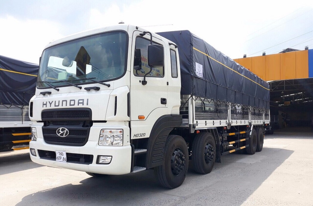 Xe tải Hyundai 19 Tấn Thùng Kín HD320