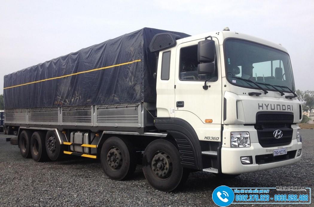 Xe tải Hyundai 5 Chân 21 Tấn HD360