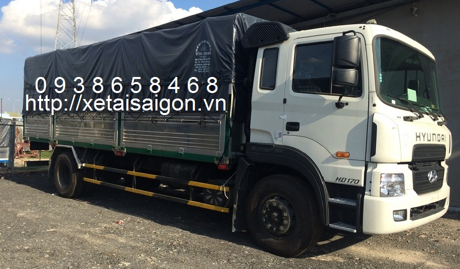 Xe tải Hyundai 8T5 – HD170 – 8.5 Tấn – 8.5T – Nhập Khẩu