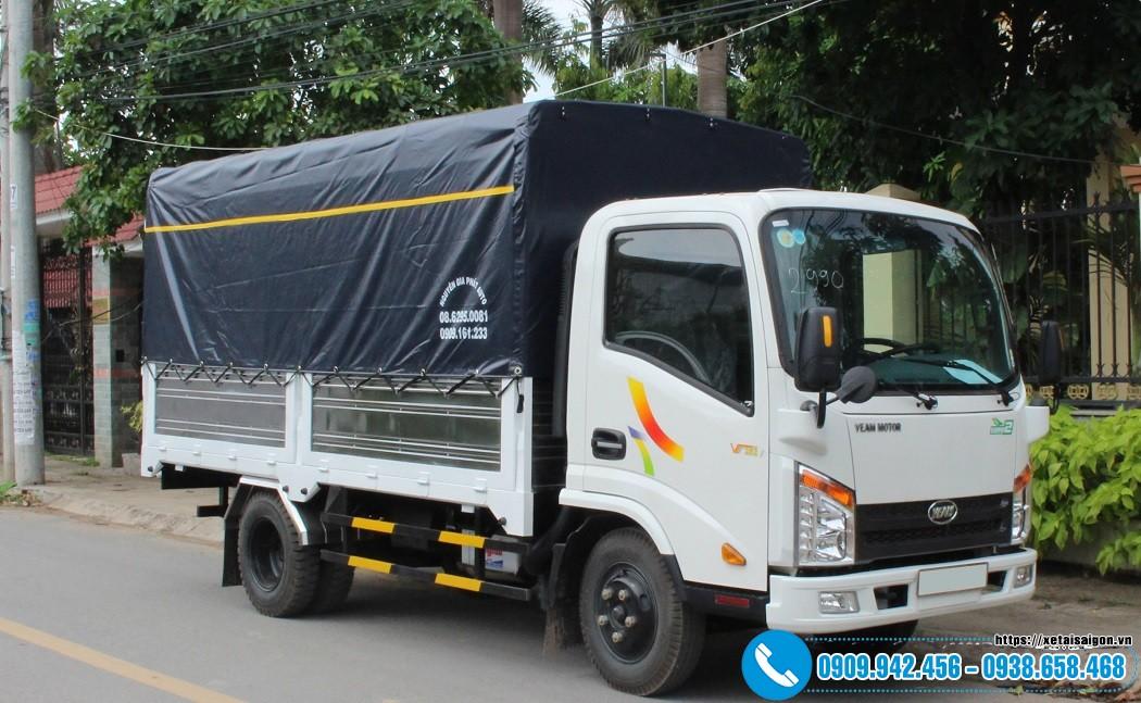 Xe tải Veam 2T4 Máy Hyundai