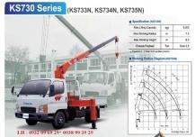 Cẩu tự hành Kanglim 3 tấn  KS733 KS734 KS735N