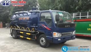 XE HÚT CHẤT THẢI 6 KHỐI JAC HFC1061K3