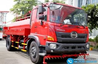 Xe Bồn Phun Nước Rửa Đường HINO 9M3