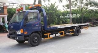Xe Cứu Hộ Giao Thông Hyundai 8 Tấn HD120SL - Sàn Trượt