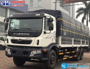 Xe Daewoo 15 tấn 3 Chân HU8AA - Thùng 9M2