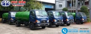 Xe Hút Chất Thải 5 Khối Hyundai 110S