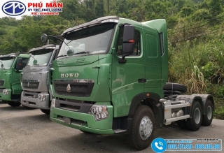 Xe Đầu Kéo Howo 6x4 – Máy 380Hp