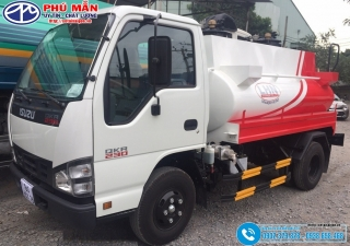 Xe bồn Xăng Dầu 3 Khối Isuzu QKR77F - 3M3 - 3000 Lít