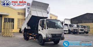 Xe ben Hino 4.5 tấn XZU342L - Thùng 3.5 Khối