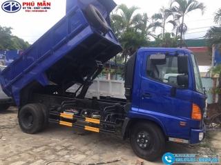 Xe ben Hino 6.4 tấn FC9JETC - Thùng 5 Khối