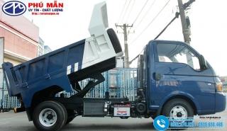 Xe ben Hyundai 1 Tấn HD1025 - Thùng 2 Khối