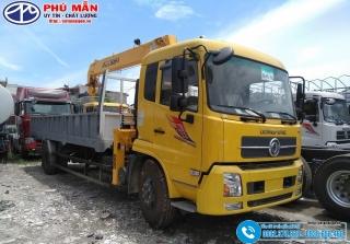 Xe tải Dongfeng B180 - Gắn Cẩu 5 Tấn Soosan SCS524