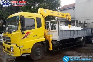 Xe tải Dongfeng B180 Gắn Cẩu SOOSAN SCS525 - 5 Tấn - 5 Khúc