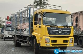 Xe tải Dongfeng 9 Tấn - Thùng Mui Bạt Gắn Bửng Nâng
