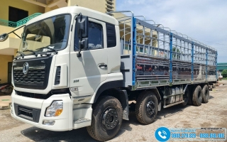 Xe tải Dongfeng 5 Chân 21T5 - 21.5 Tấn - Tổng Tải 34 Tấn