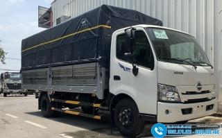 Xe tải Hino 5T2 WU342L - 5.2 Tấn - Thùng Mui Bạt