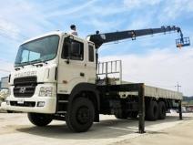 Xe tải Hyundai HD250 - 15 Tấn - Gắn Cẩu 8 Tấn - 10 Tấn