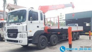 Xe tải Hyundai HD320 Gắn Cẩu KangLim 12 Tấn