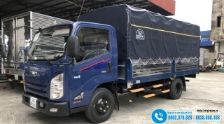 Xe tải IZ65 - 2T2 - 2.2 Tấn - Thùng Bạt 4M3