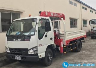 Xe tải Isuzu 1.9 Tấn QKR77H - Gắn Cẩu Unic 2 Tấn UR-V233