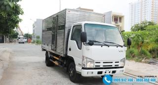 Xe tải Isuzu 3.5 Tấn Nk650L – Thùng Kín
