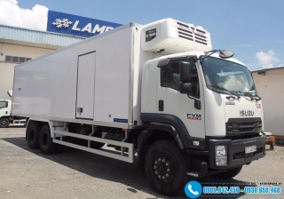 Xe tải Isuzu FVM 1500 Thùng Đông Lạnh