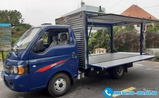 Xe tải Jac 1.25 Tấn – Thùng Cánh Dơi